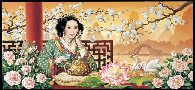 Культура чаепития в Китае для нас непривычна