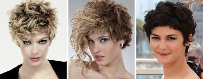 Три варианта стрижки гарсон на короткие волосы