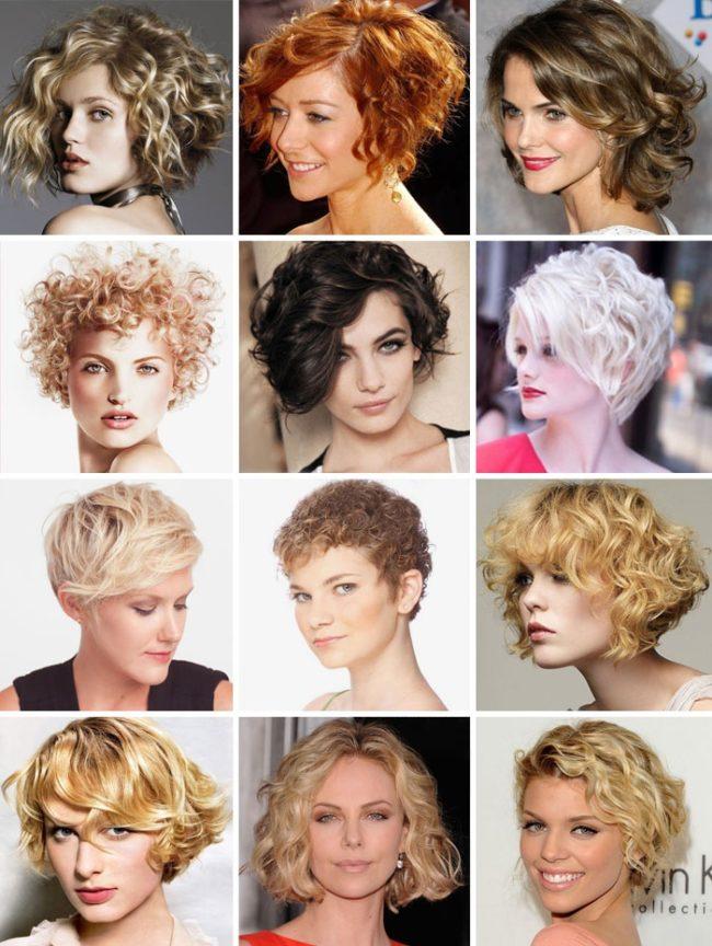 Девушки с короткими кудрявыми волосами