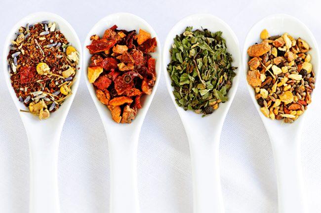 Компоненты монастырского чая