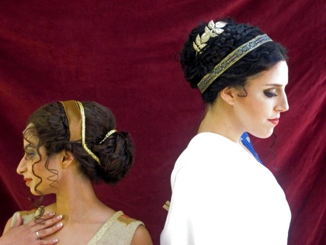 аксессуары для греческих причёсок