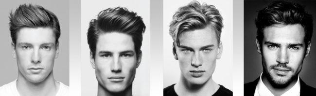 Формы лица у мужчин