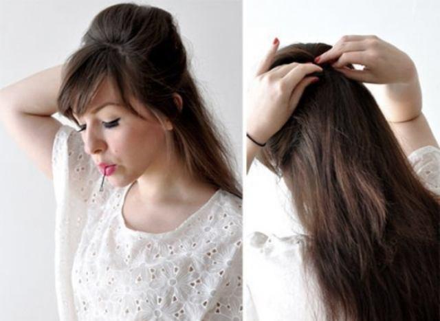 Укладка волос в валик